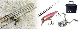 釣り具、ルアーなど