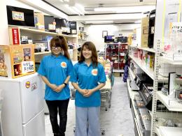 リサイクルケイラック志木駅東口店のスタッフ達